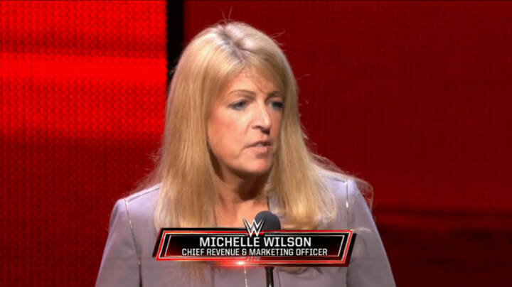 Michelle Wilson (Chief Revenue & Marketing Officer WWE), WWE-Inc.  (Screenshots Film Homepage)
