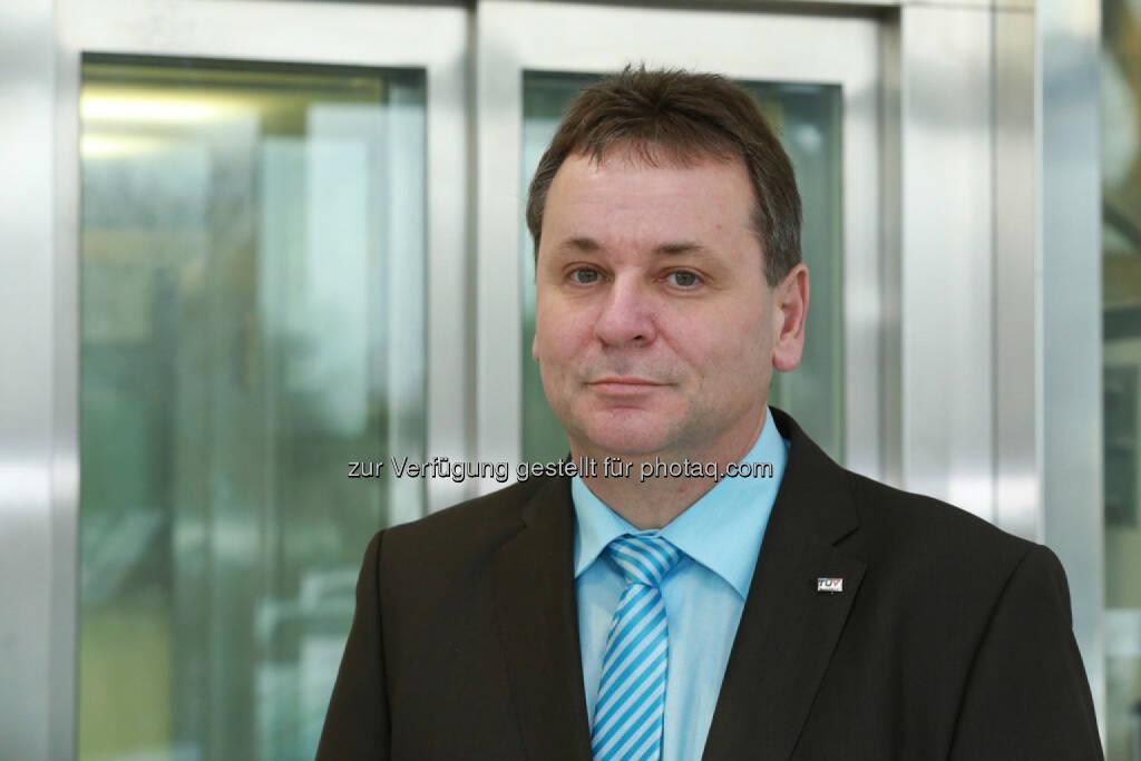 Thomas Maldet  ist der neue Chef der Aufzugstechnik beim TÜV Austria (C) TÜV Austria (27.01.2014)
