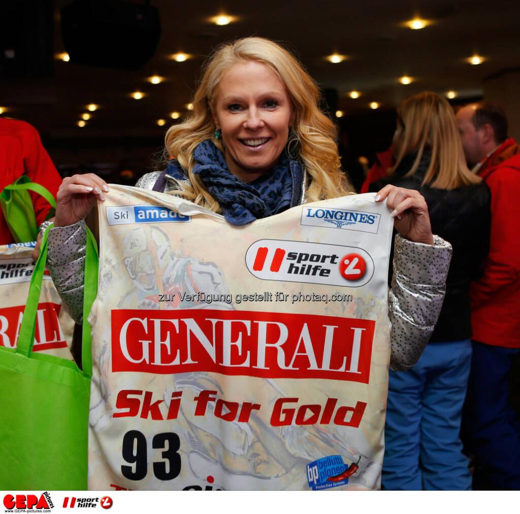Sporthilfe Charity Race. Bild zeigt Ulrike Kriegler. Foto: GEPA pictures/ Wolfgang Grebien, © GEPA/Sporthilfe (27.01.2014)