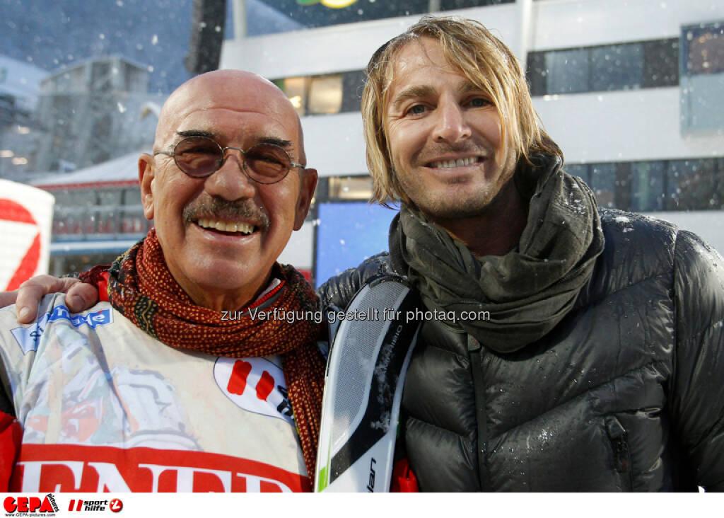 Sporthilfe Charity Race. Bild zeigt Otto Retzer und Leo Hillinger. Foto: GEPA pictures/ Harald Steiner, © GEPA/Sporthilfe (27.01.2014)
