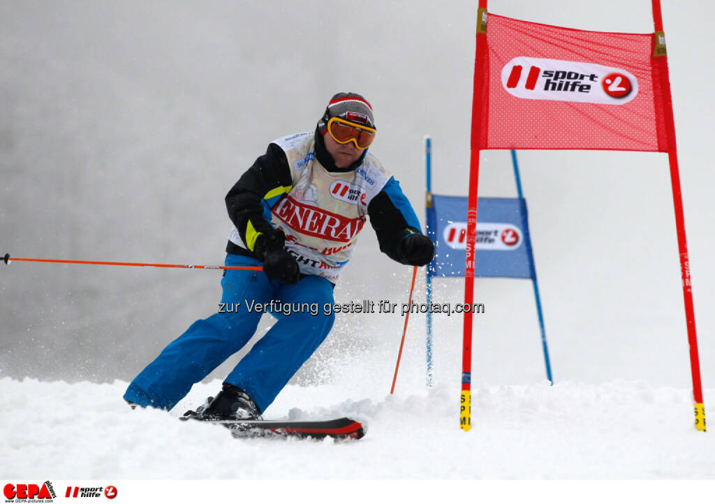 Sporthilfe Charity Race. Bild zeigt Andreas Gruenbichler. Foto: GEPA pictures/ Harald Steiner, © GEPA/Sporthilfe (27.01.2014)