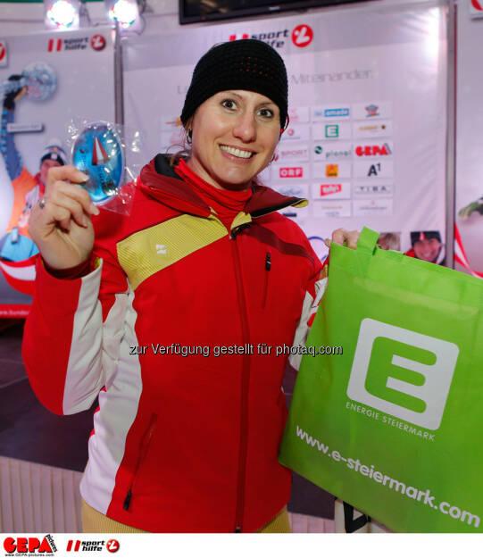 Sporthilfe Charity Race. Bild zeigt Brigitte Kliment Obermoser. Foto: GEPA pictures/ Wolfgang Grebien, © GEPA/Sporthilfe (27.01.2014)