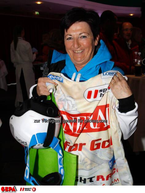 Sporthilfe Charity Race. Bild zeigt Marianne Thaler. Foto: GEPA pictures/ Harald Steiner, © GEPA/Sporthilfe (27.01.2014)