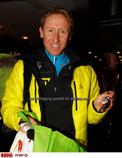 Sporthilfe Charity Race. Bild zeigt Christian Hoffmann. Foto: GEPA pictures/ Harald Steiner, © GEPA/Sporthilfe (27.01.2014)