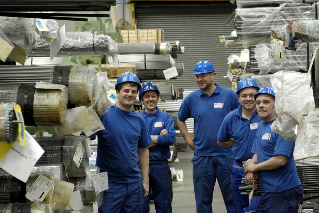 Business Area Materials Services Mitarbeiter, (© ThyssenKrupp AG, http://www.thyssenkrupp.com/de/presse/bilder.html&photo_id=949), © ThyssenKrupp AG (28.01.2014)