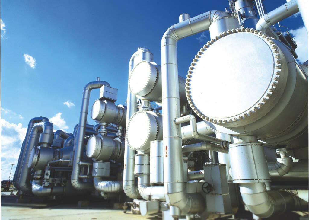 Anlage zur Gewinnung von hochwertigen Vakuum-Gasölen, ThyssenKrupp AG, (© ThyssenKrupp AG, http://www.thyssenkrupp.com/de/presse/bilder.html&photo_id=1248), © ThyssenKrupp AG (28.01.2014)
