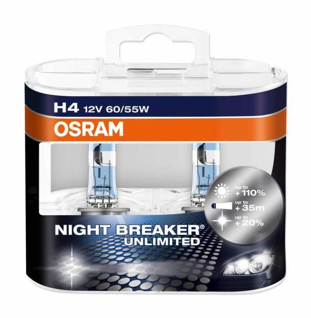 Night Breaker Unlimited, Lampe, Osram Licht AG, © Osram Licht AG (Homepage) (29.01.2014)