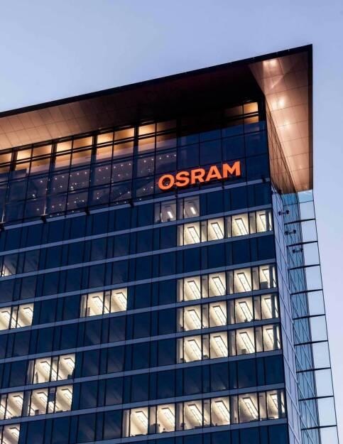 Das Osram Lighthouse ist die Unternehmenszentrale des Lichtherstellers, (C) Robert Pupeter, © Osram Licht AG (Homepage) (29.01.2014)