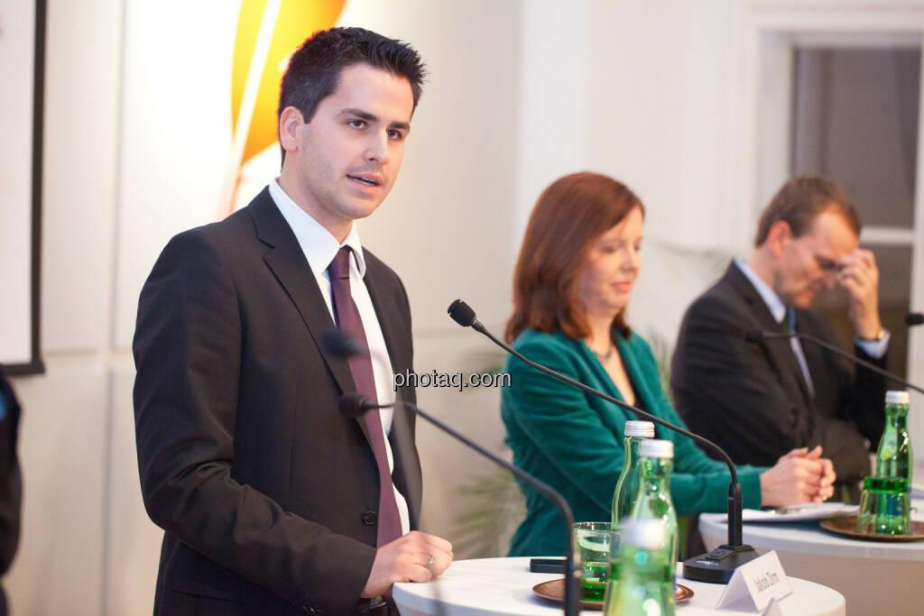 Jakob Zirm, Waltraud Langer, © Michaela Mejta für finanzmarktfoto.at (30.01.2014)