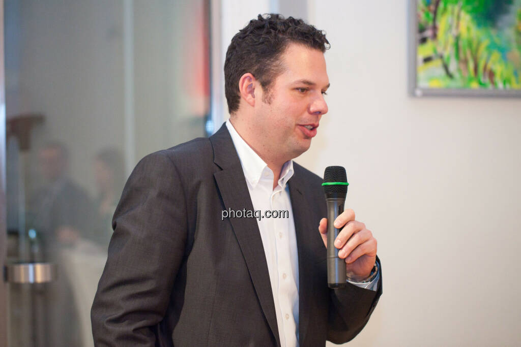 Robert Lechner, Unternehmenssprecher OMV, © Michaela Mejta für finanzmarktfoto.at (30.01.2014)