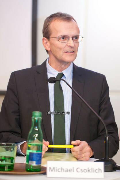 Michael Csoklich, © Michaela Mejta für finanzmarktfoto.at (30.01.2014)