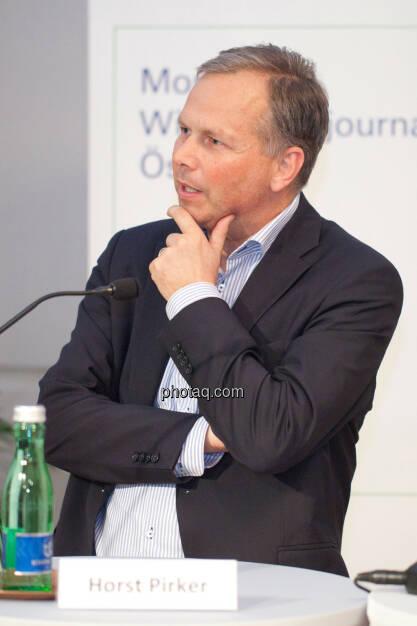 Horst Pirker, © Michaela Mejta für finanzmarktfoto.at (30.01.2014)