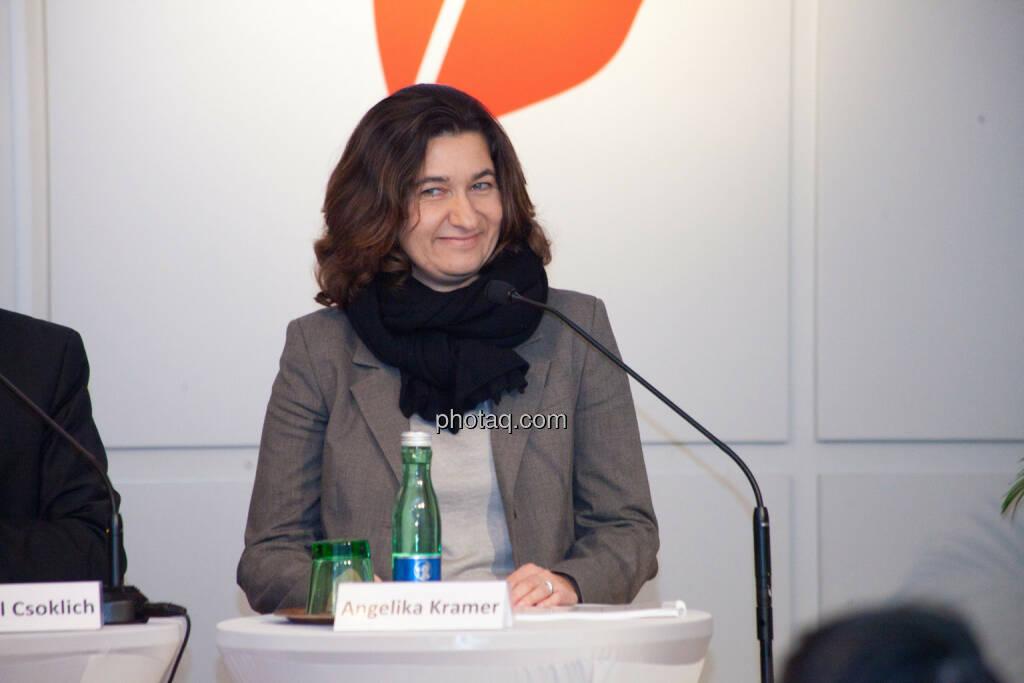 Angelika Kramer, © Michaela Mejta für finanzmarktfoto.at (30.01.2014)