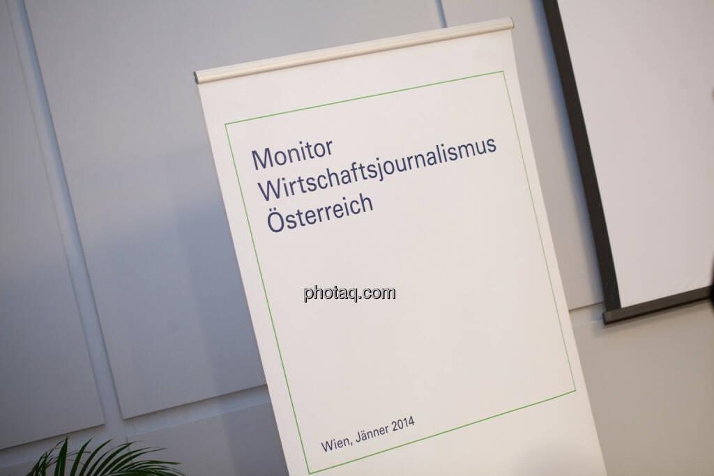 Monitor Wirtschaftsjournalismus Österreich, © Michaela Mejta für finanzmarktfoto.at (30.01.2014)