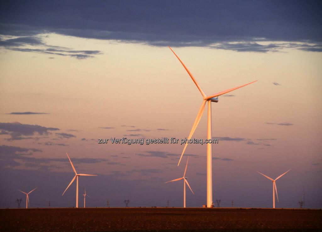Siemens AG erhält Auftrag über Bau und Service von 79 Windkraftanlagen in Texas - Das geplante Windkraftwerk Panhandle 2 besteht aus 79 Anlagen vom Typ Siemens SWT-2.3-108. (Bild: Siemens) (30.01.2014)