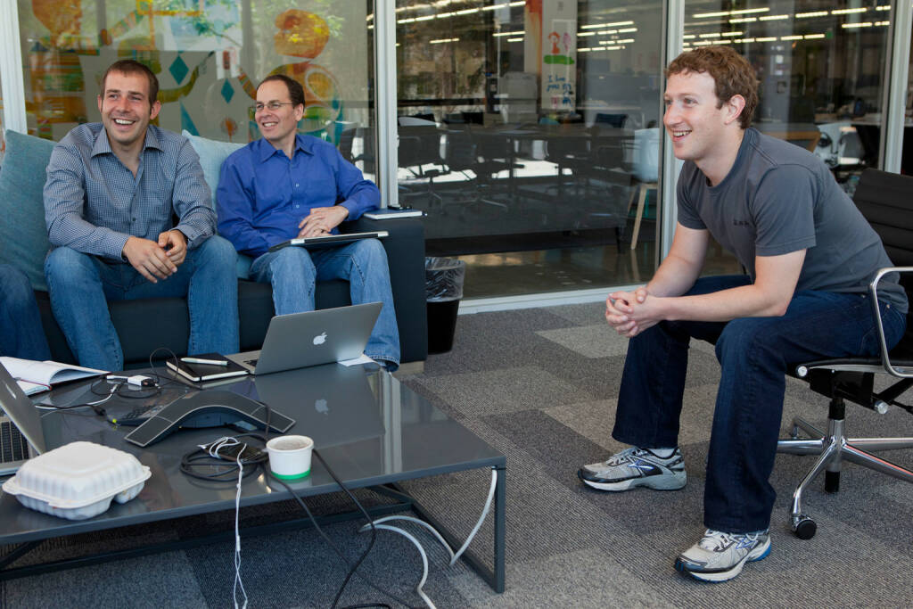 Mark Zuckerberg, © facebook (homepage) (31.01.2014)
