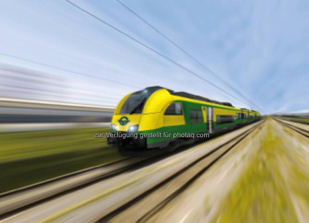 Siemens: Raaberbahn unterzeichnet Vertrag für 5 Desiro ML Regionalzüge - Fahrwerke kommen aus dem Siemens Werk in Graz (31.01.2014)
