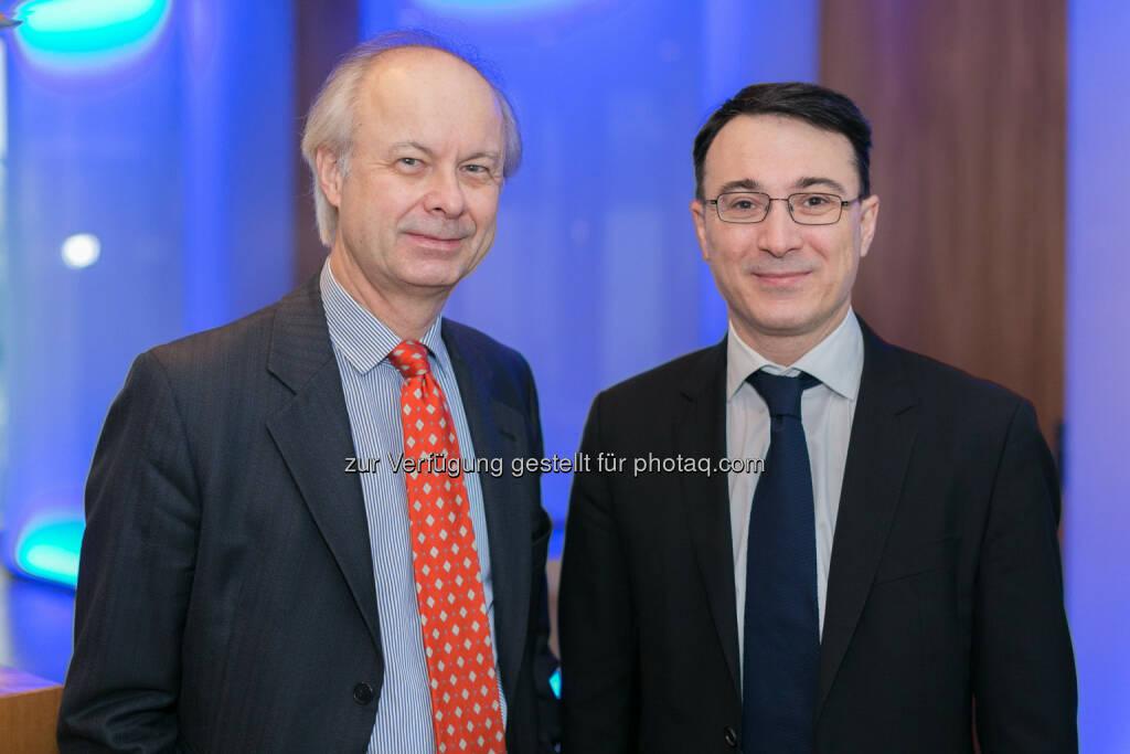 Peter Szopo, Russland Experte und Spezialist für Aktien aus Osteuropa, Alexandre Dimitrov, Senior Osteuropa-Aktienfondsmanager Erste-Sparinvest, © Erste-Sparinvest (31.01.2014)