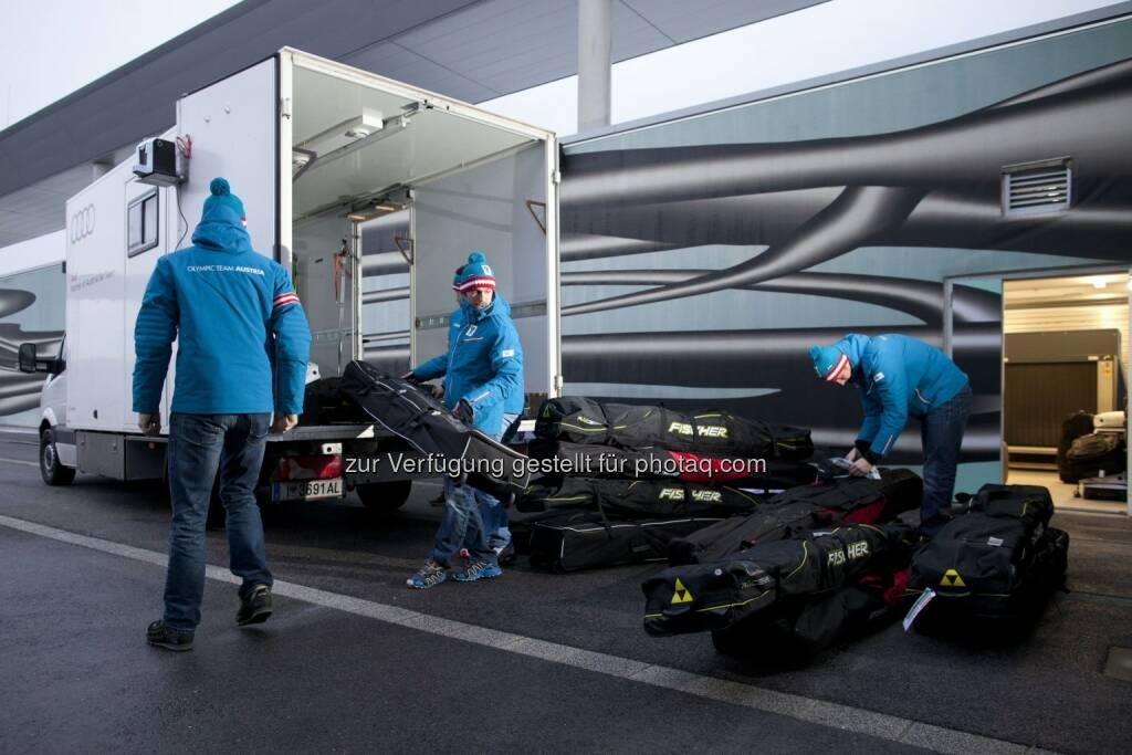 Austrian Equipment Sotschi, © Austrian Airlines Group (01.02.2014)