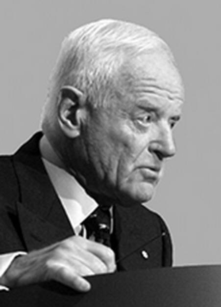 Peter Munk, Founder and Chairman of Barrick Gold Corporation, © Barrick Gold Corporation (homepage) (03.02.2014)