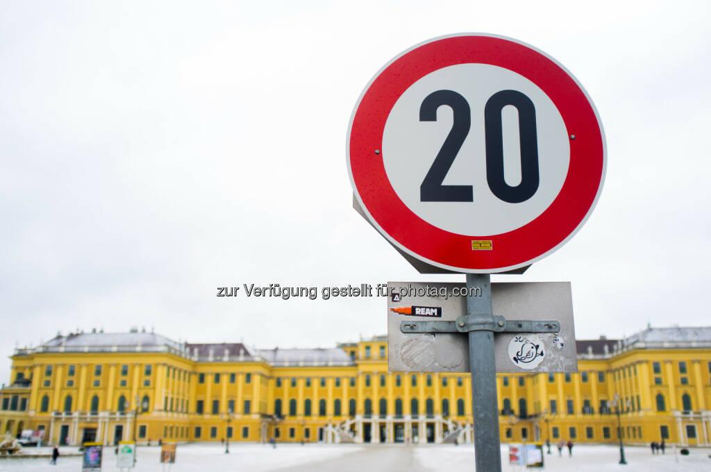 20, Schloss Schönbrunn, zwanzig, © Martina Draper (03.02.2014)