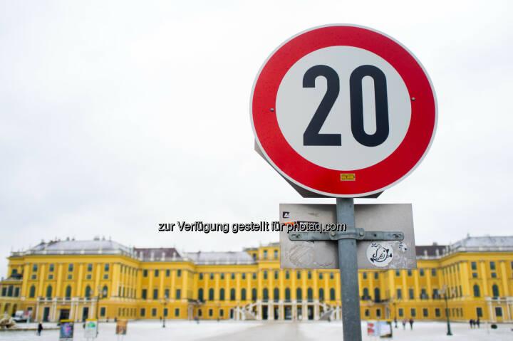 20, Schloss Schönbrunn, zwanzig
