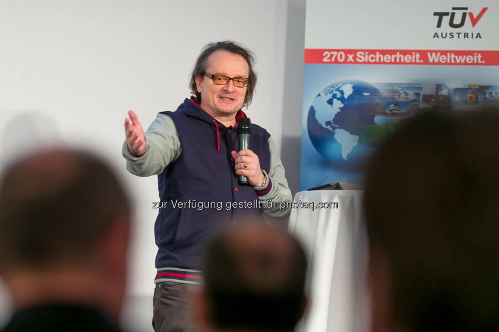 Bernhard Heinzlmaier (Vorsitzender Institut für Jugendkulturforschung), © TÜV Austria/APA-Fotoservice/Schedl (03.02.2014)