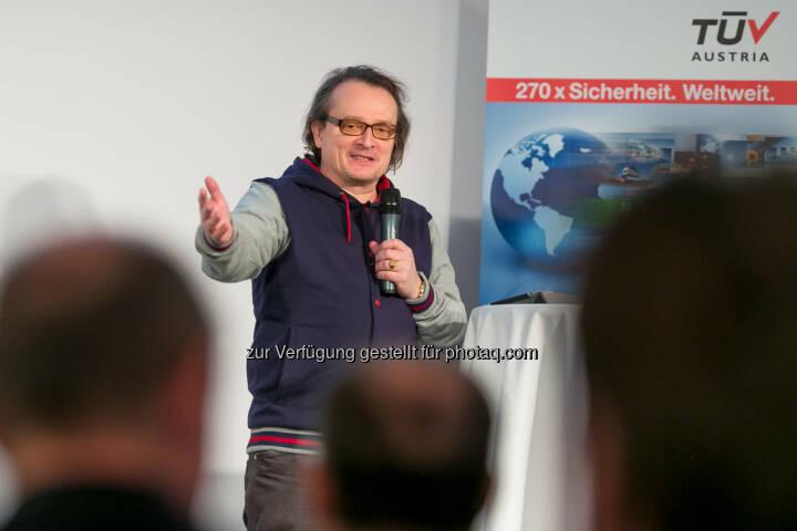Bernhard Heinzlmaier (Vorsitzender Institut für Jugendkulturforschung)