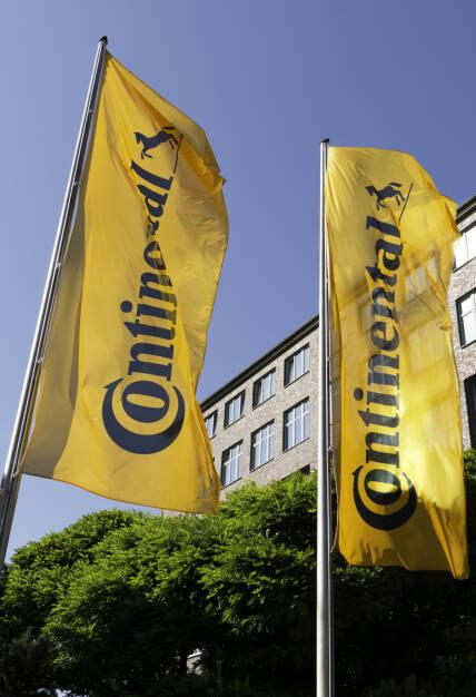 Die Continental AG Zentrale mit neuem Logo., © Continental AG (Homepage) (03.02.2014)