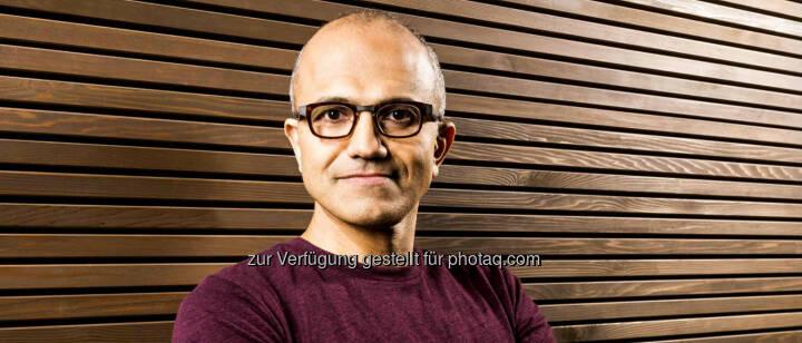 Satya Nadella wird neuer Vorstandschef von Microsoft. Der indischstämmige Manager war zuvor für das Firmenkunden- und Cloud-Geschäft zuständig. (C) Microsoft Homepage