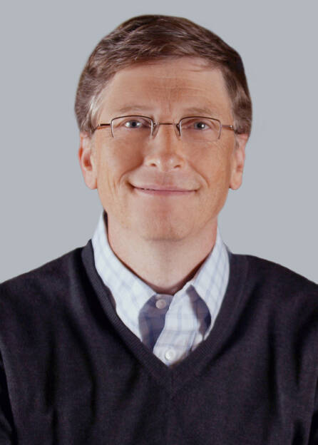 Bill Gates, Founder and Technology Advisor Microsoft Corp., © Microsoft Corp. (Homepage) (04.02.2014)