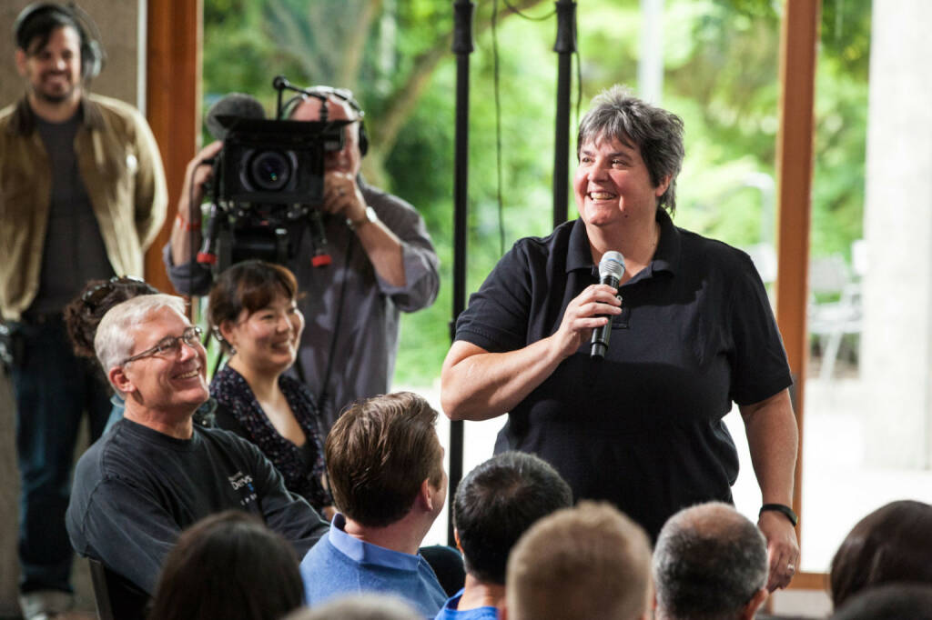 Lisa Brummel, Executive Vice President Human Resources, Microsoft Corp., (C) Brian Smale, © Microsoft Corp. (Homepage) (04.02.2014)