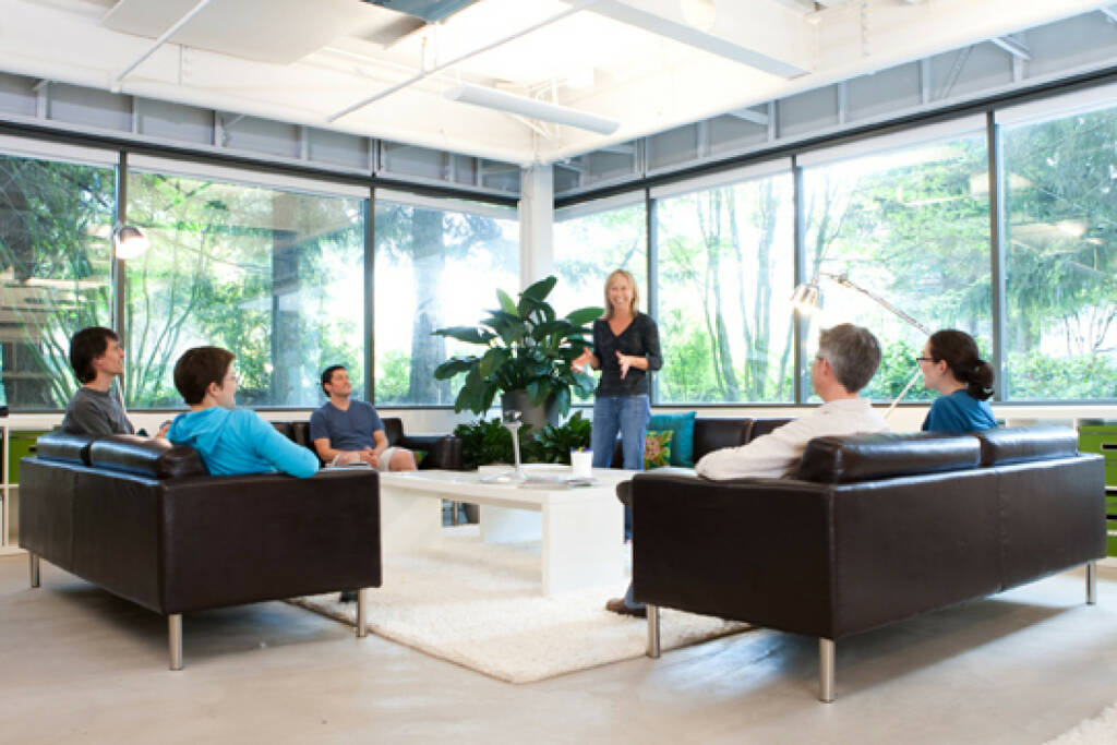 Open meeting area on the Microsoft Redmond Campus, © Microsoft Corp. (Homepage) (04.02.2014)