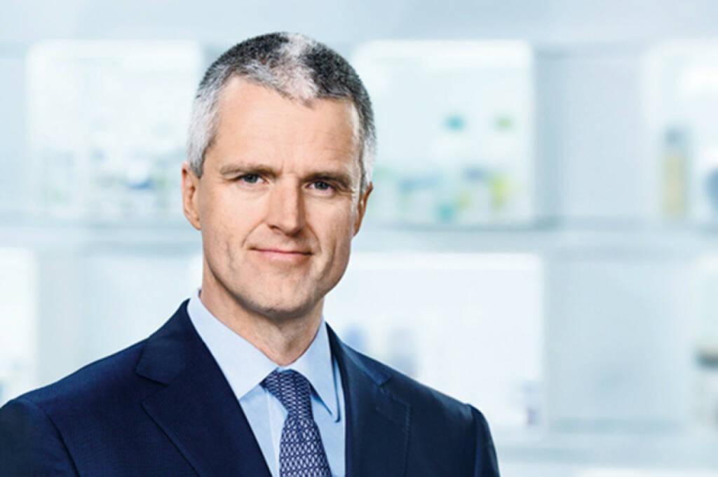 Vorstandsvorsitzender Stefan F. Heidenreich, Beiersdorf, © Beiersdorf AG (Homepage) (06.02.2014)