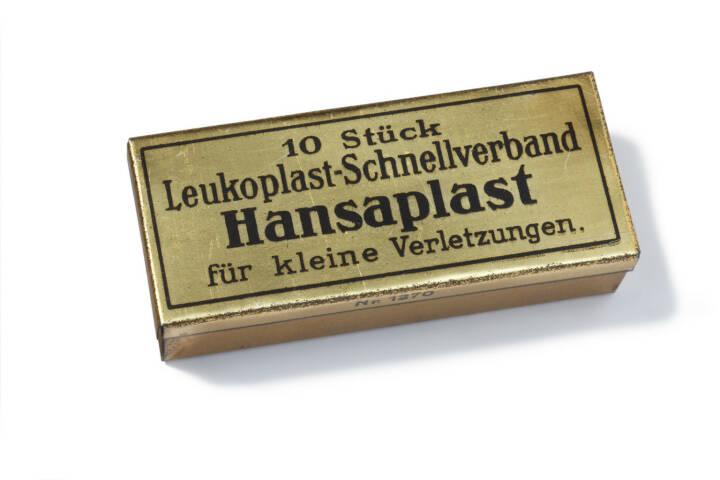 Hansaplast Verpackung 1922, Beiersdorf
