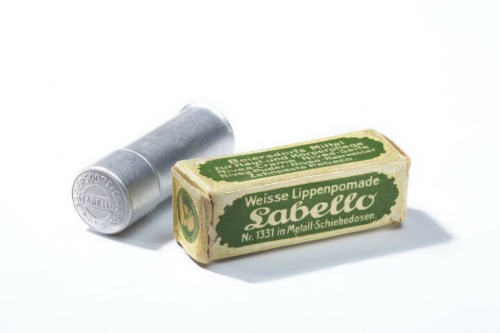 Erste Labello Lippenpomade 1922, Beiersdorf