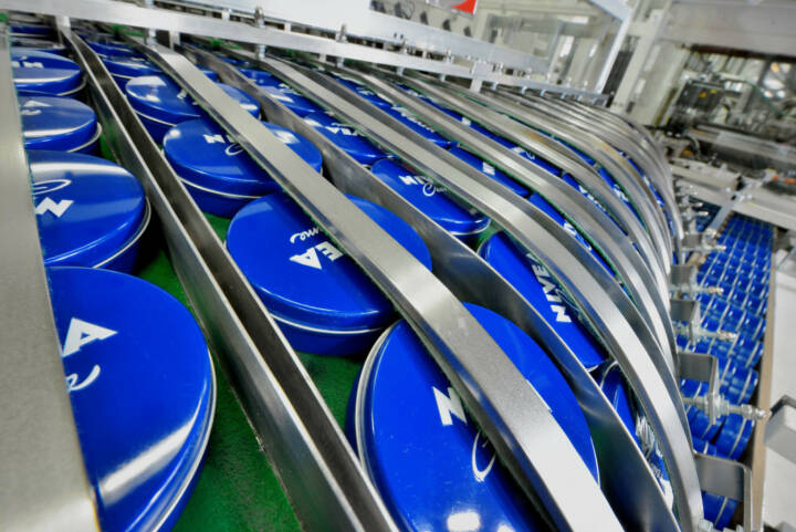 NIVEA Creme – Produktion