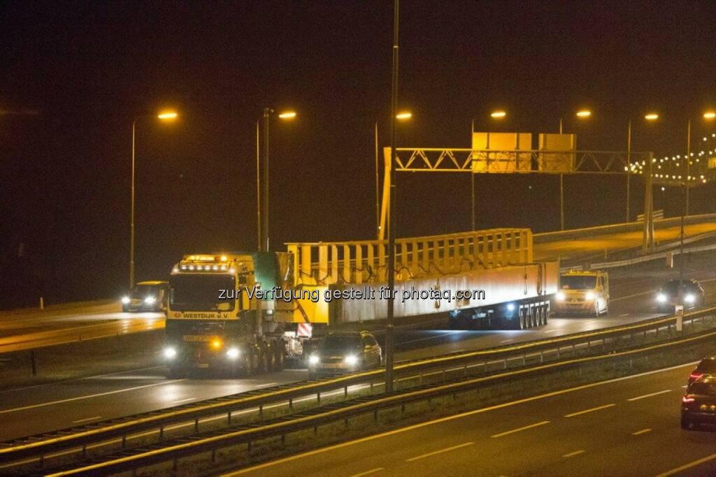 Sondertransport voestalpine Polynorm (06.02.2014)