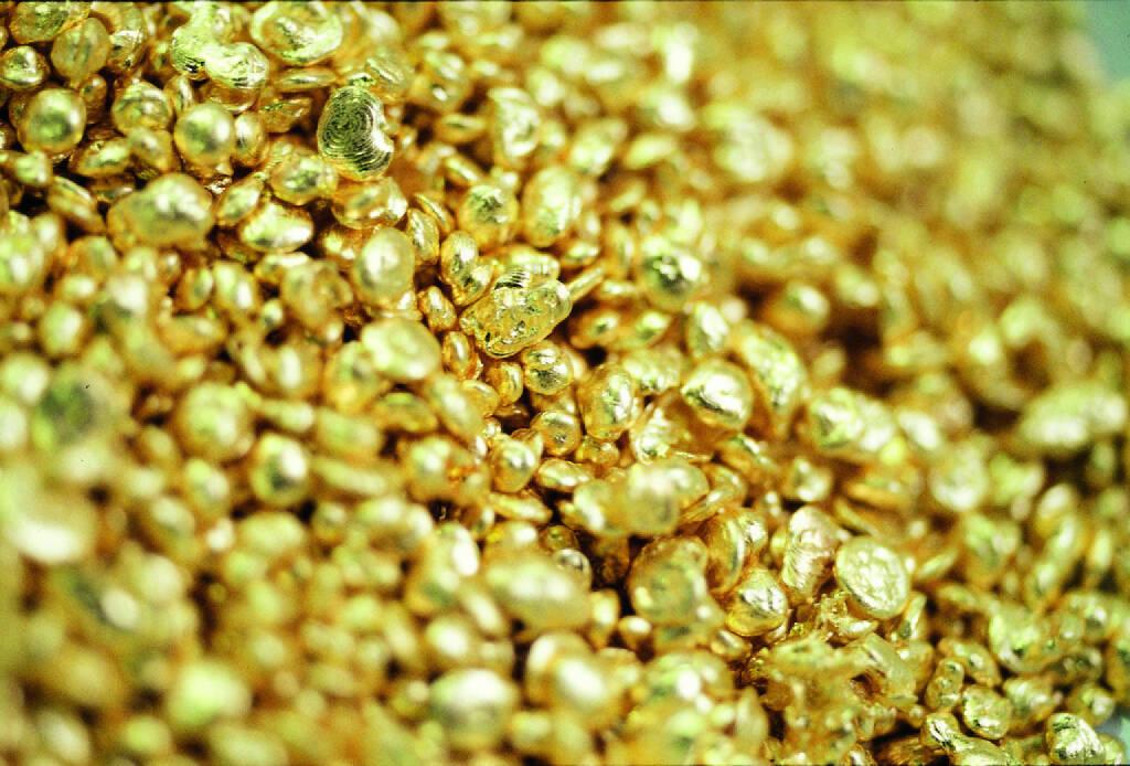 Goldgranalien, Aurubis AG, © Aurubis AG (Homepage) (06.02.2014)