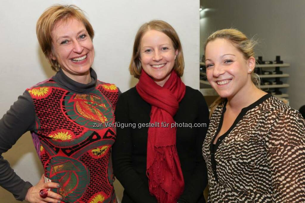 Julia Guthan, Doris Lenhardt, Eva Mandl (Bild: Katharina Schiffl) (10.02.2014)
