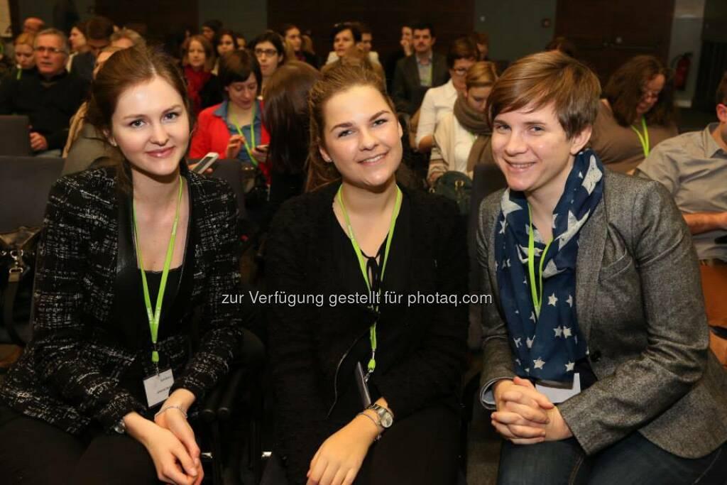 Alexandra Thonabauer, Johanna Gangl, Evi Marckhgott (Bild: Katharina Schiffl) (10.02.2014)
