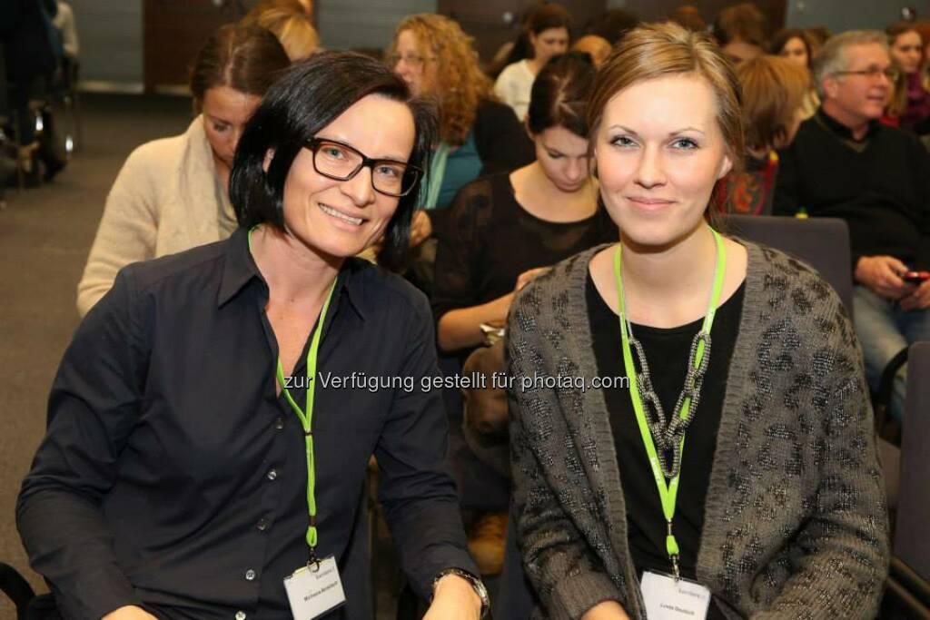 Linda Deutsch, Michaela Benkitsch (Bild: Katharina Schiffl) (10.02.2014)