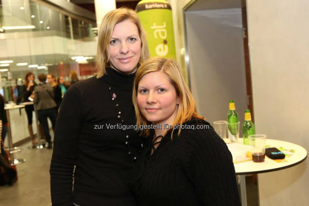 Michaela Glanz, Anja Buchinger (Bild: Katharina Schiffl) (10.02.2014)