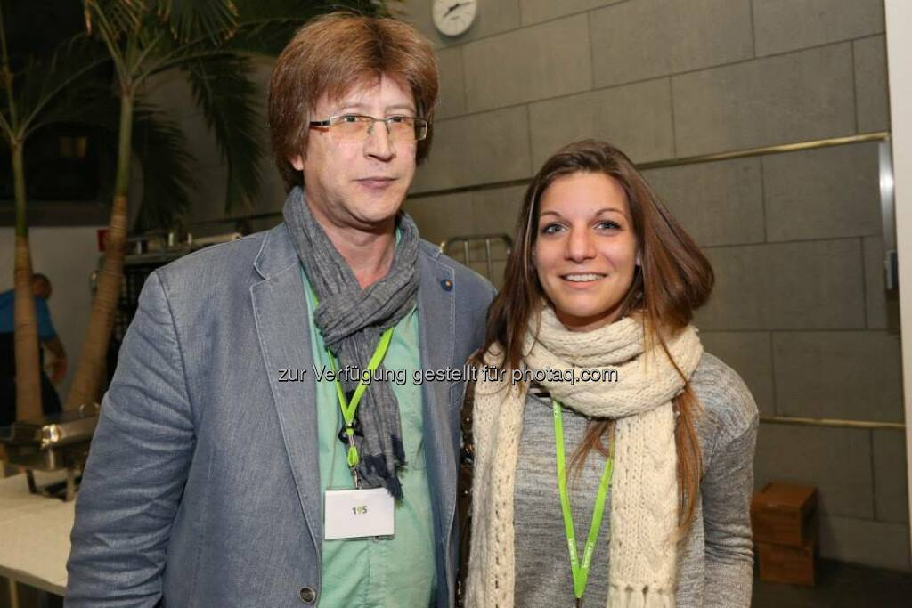 Marina Providakis, Thomas Khom (Bild: Katharina Schiffl) (10.02.2014)