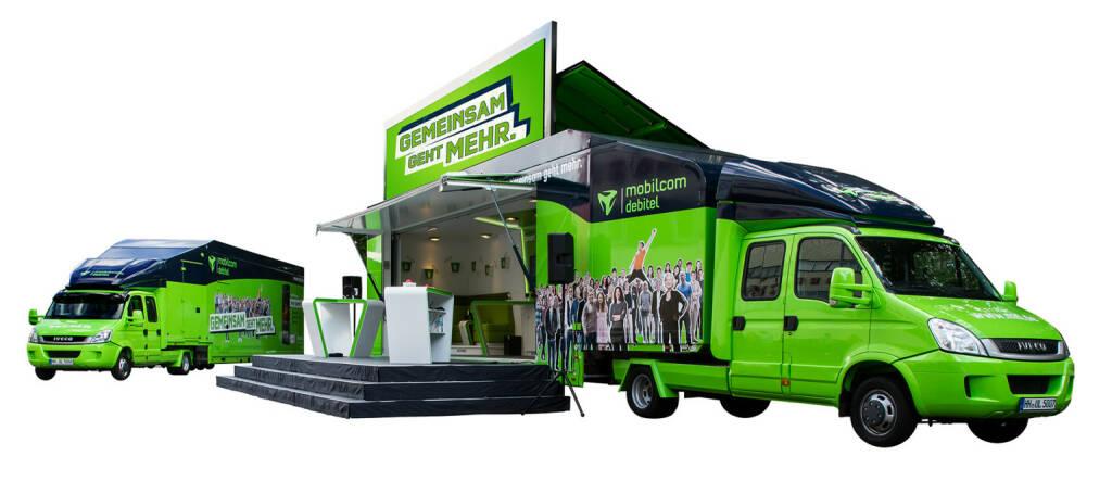 mobilcom-debitel Trucks, freenet AG, © freenet AG (Homepage) (10.02.2014)