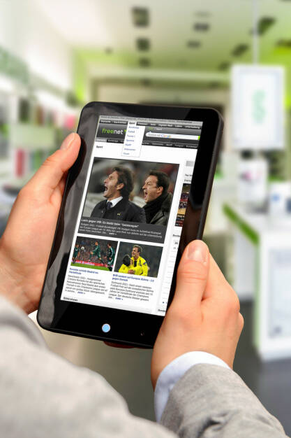 Das freenet.de Portal, freenet AG, © freenet AG (Homepage) (10.02.2014)