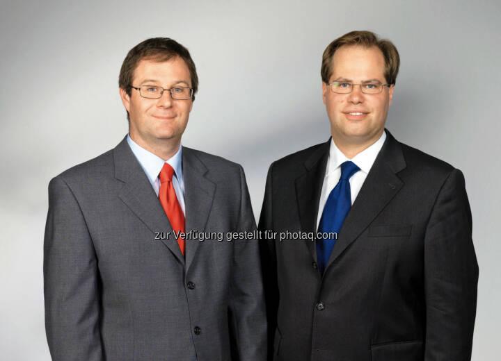 Markus Kitz-Augenhammer & Mathias Mühlhofer, Vorstände der Immobilienrendite AG. Immobilienrendite AG zahlt 2013 1,2 Mio. Euro an Investoren aus.