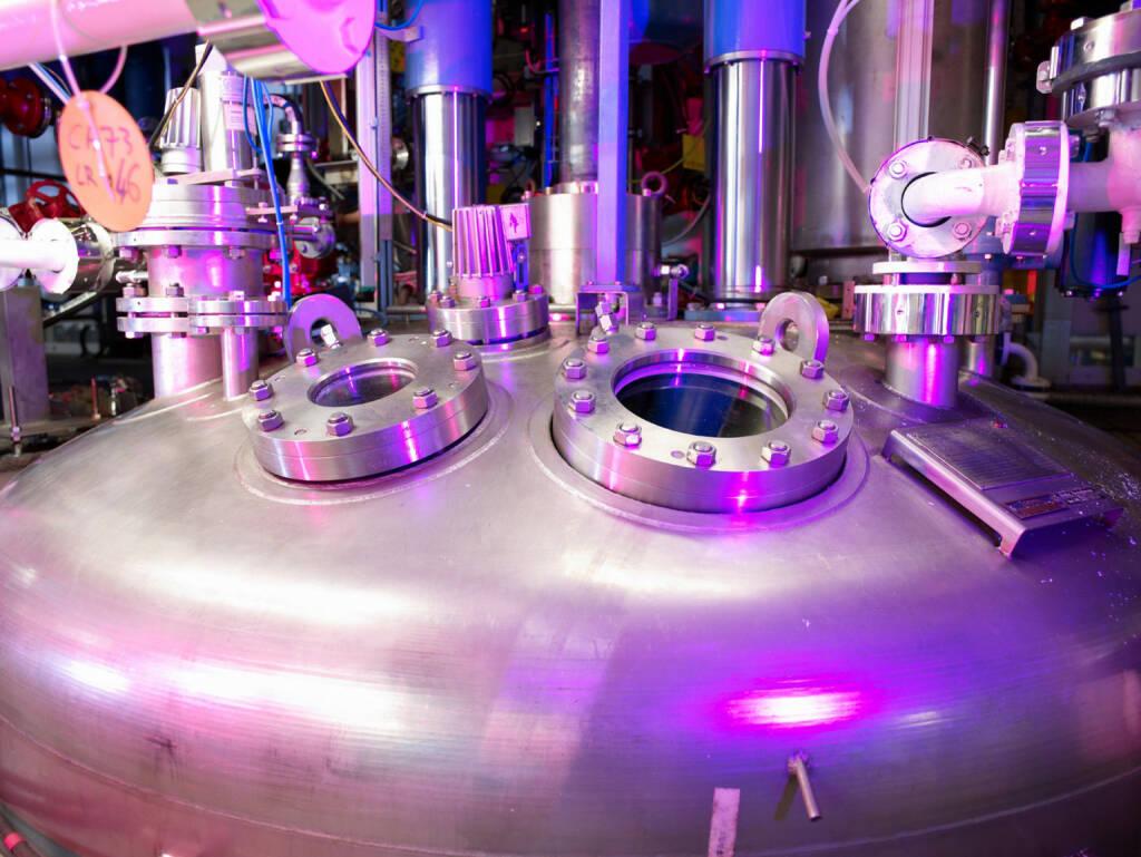 Reaktor zur Herstellung von Zwischenprodukten bei der Saltigo GmbH in Leverkusen. Lanxess AG, © Lanxess AG (Homepage) (11.02.2014)