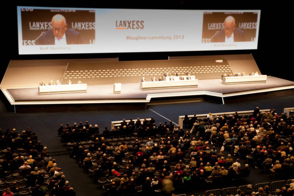 Lanxess Hauptversammlung 2013, © Lanxess AG (Homepage) (11.02.2014)