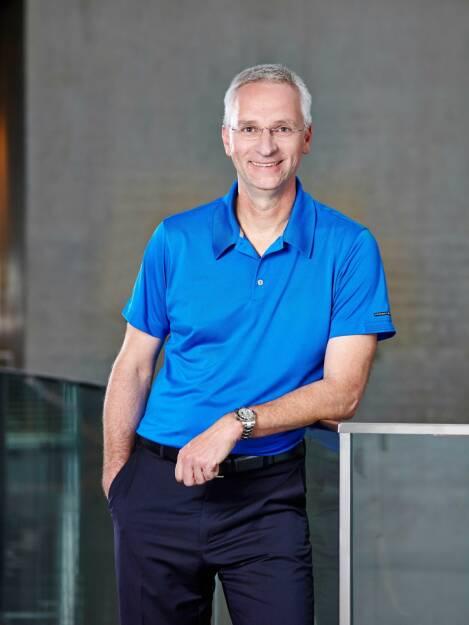 Roland Auschel, Vorstandsmitglied adidas, © adidas group (Homepage) (12.02.2014)